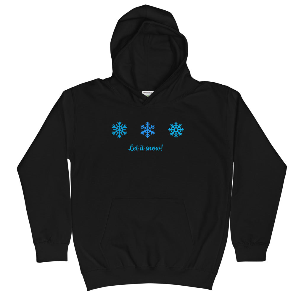 Let it Snow Kids Hoodie