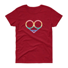 LGBT Love Symbol Women's T-shirt