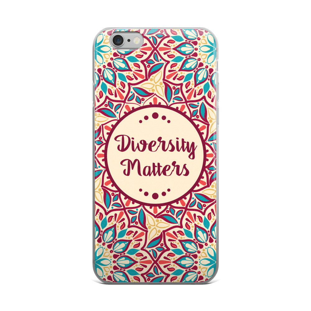 Mandala Diversity Matters iPhone 5/5s/Se, 6/6s, 6/6s Plus Case