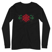 Snowflakes Unisex Long Sleeve T-shirt