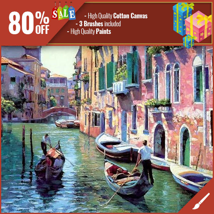 Paint By Numbers Canals Of Venice
