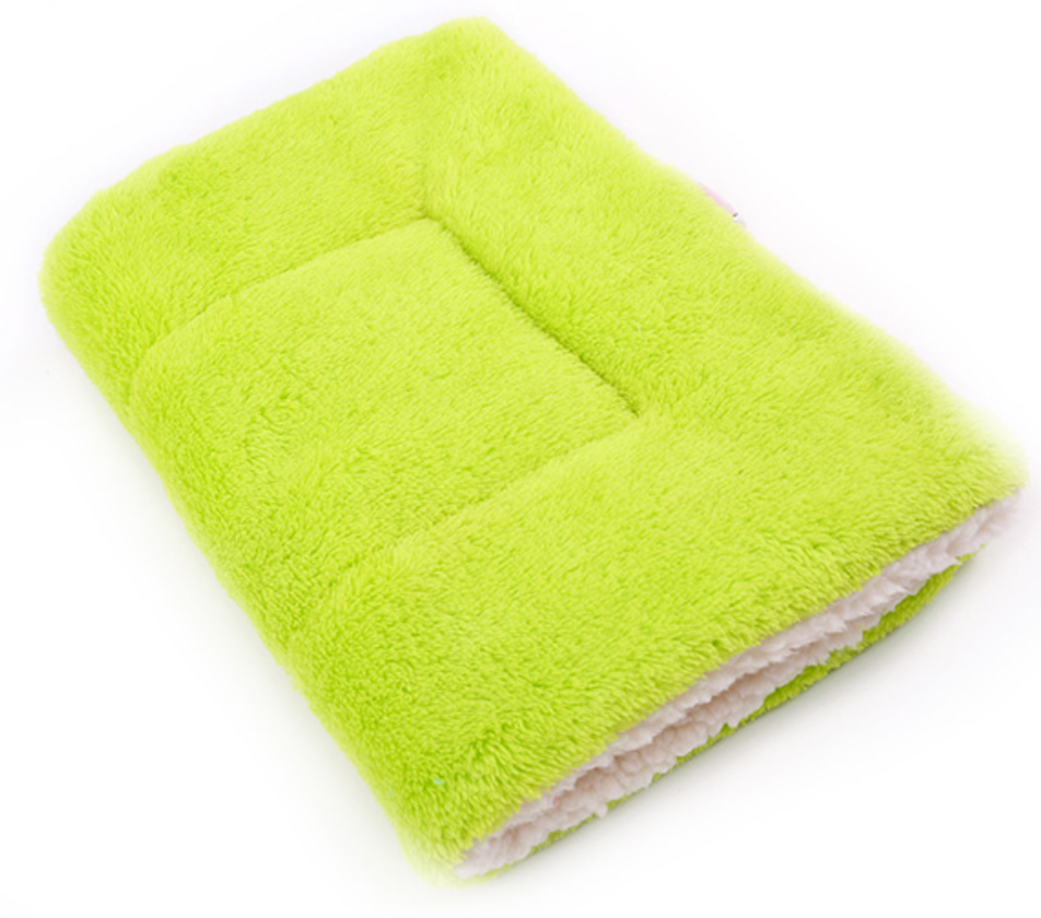 Soft Winter Pet Blanket green