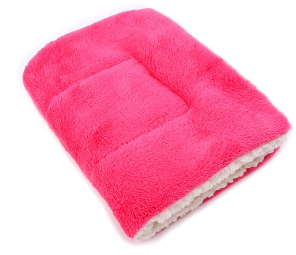 Soft Winter Pet Blanket rose pink