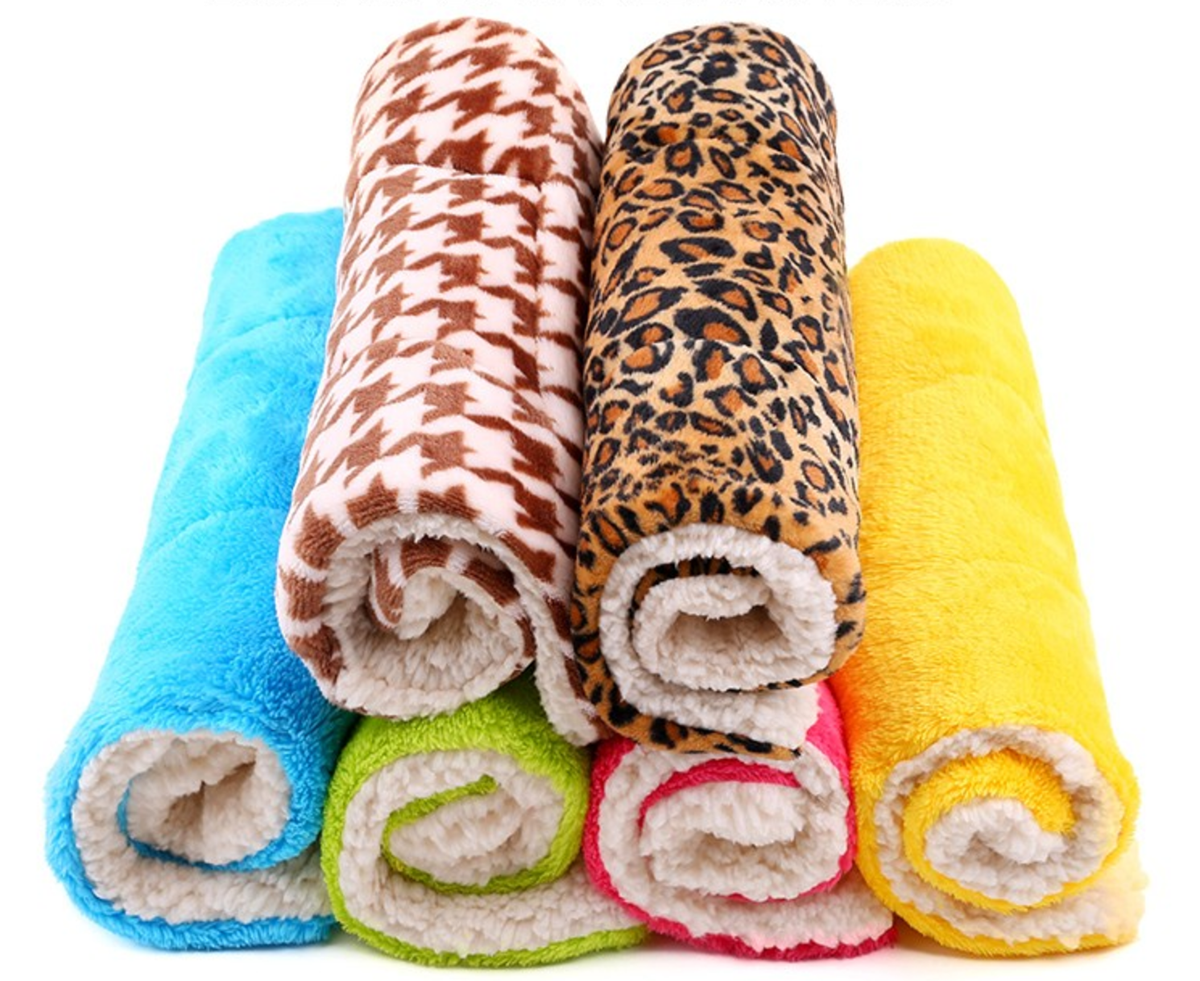 Soft Winter Pet Blankets