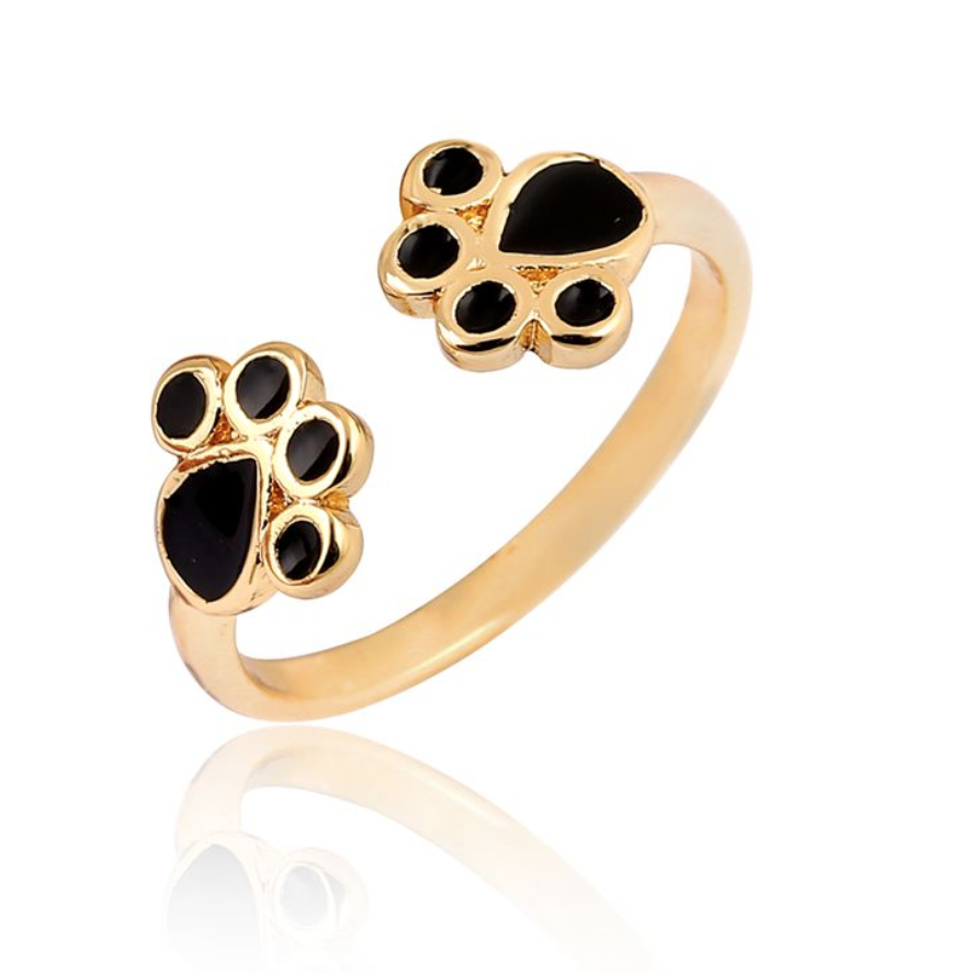 Basic Paw Lover's Ring