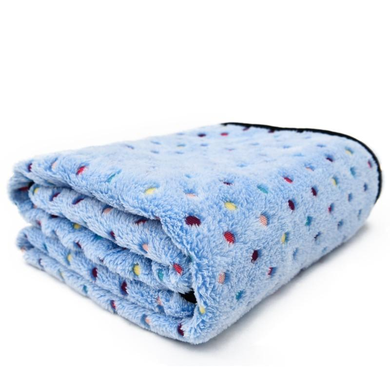 Ultra Thick Warm Pet Blanket blue