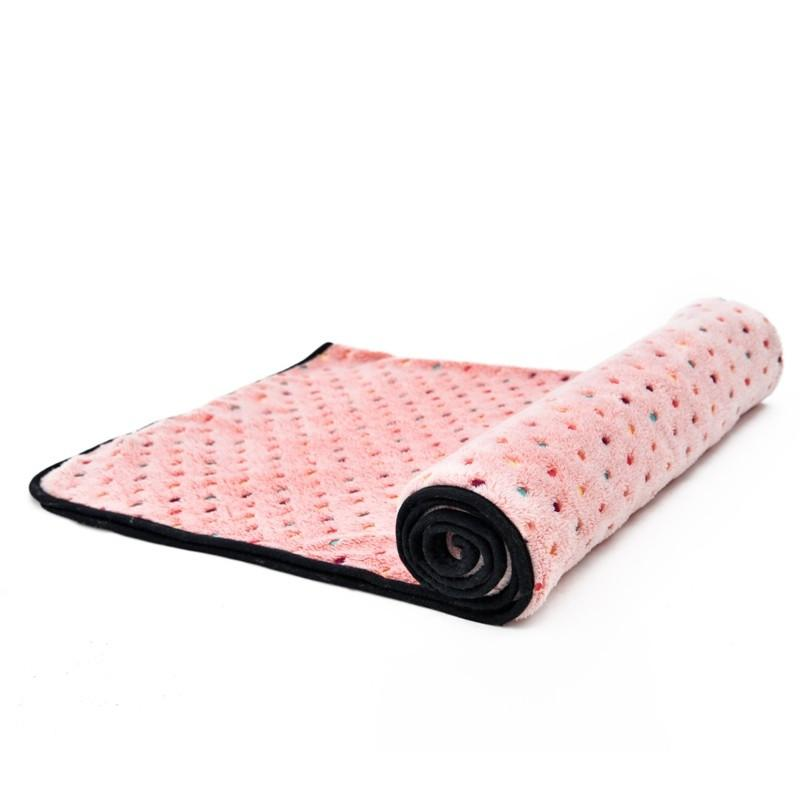 Ultra Thick Warm Dog & Cat Blanket Pink