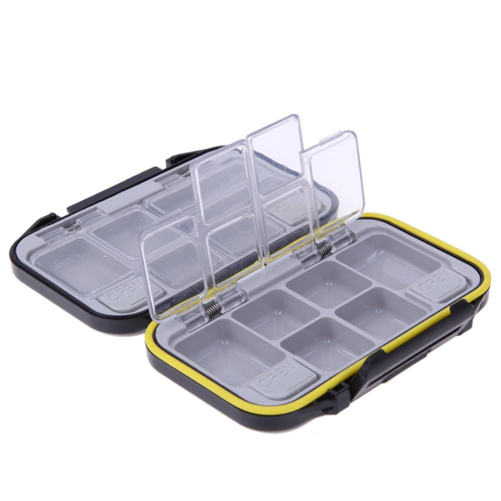12 Compartments Waterproof Fishing Tackle Storage Box