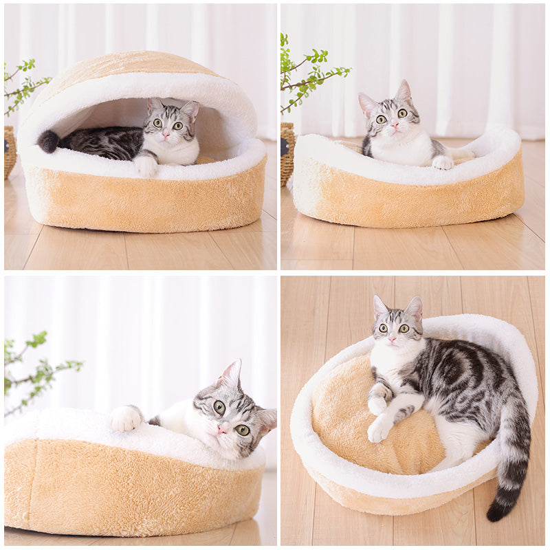 Comfortable Cat Burger Bed