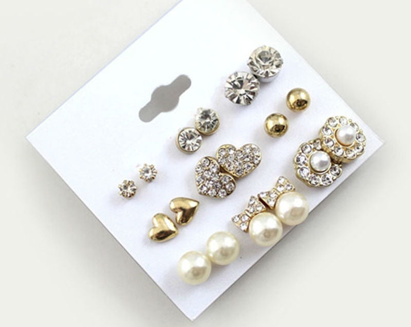 9 Pairs/Set Amazing Earrings