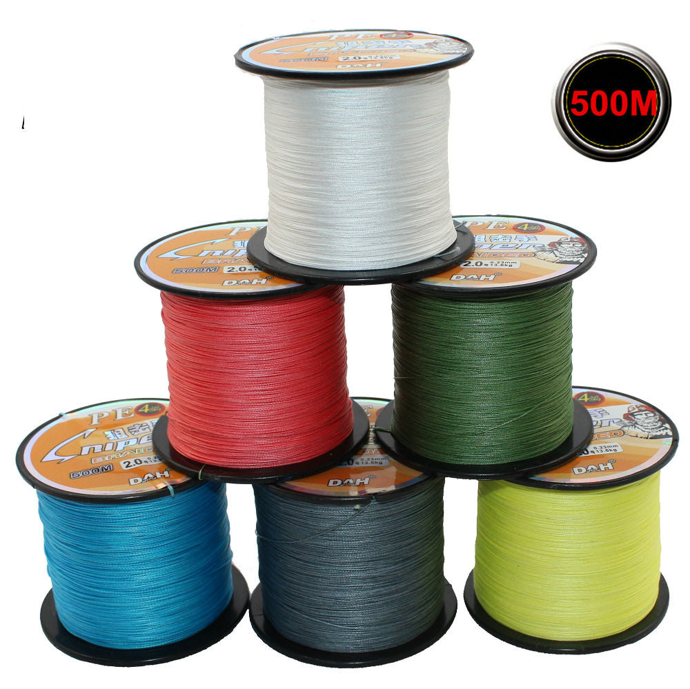 Braided Super Strong 4 Strand Fishing Line