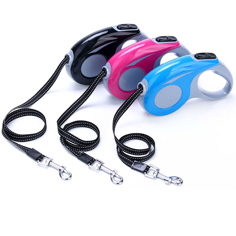 Automatic Retractable Easy Gripping Dog Leash