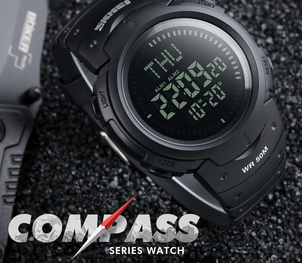 Outdoor Sports Compass Watch
