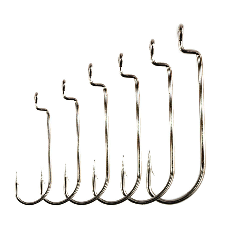 50pcs High-carbon High Quality Worm Hook