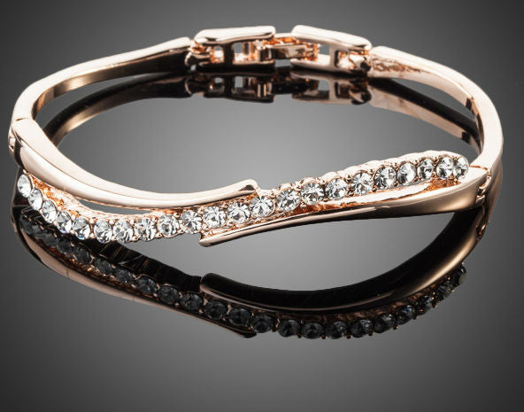 Crystal Paved Bangle Bracelet