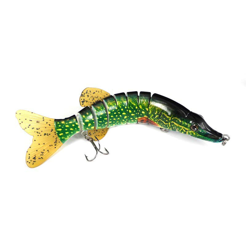 20cm 8 Segment Pike Freshwater Fishing Lure