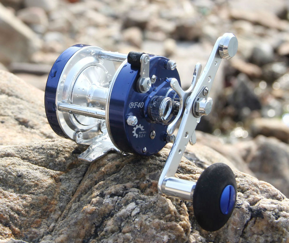 All Metal Saltwater Drum Reel