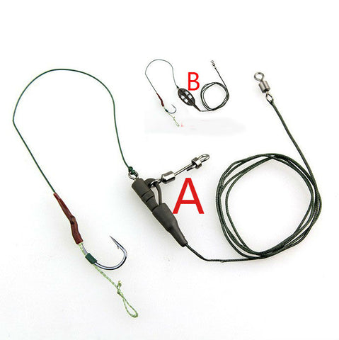 Fishing Rig with Leader Line & 30g Sinker Lead