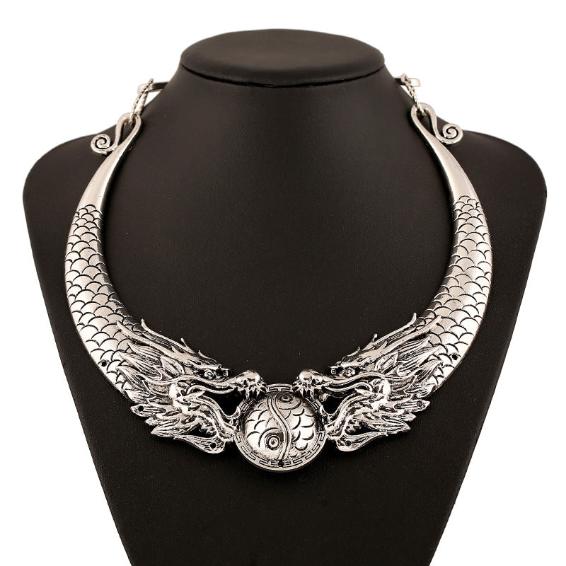 Dragons Element Maxi Torques Necklace