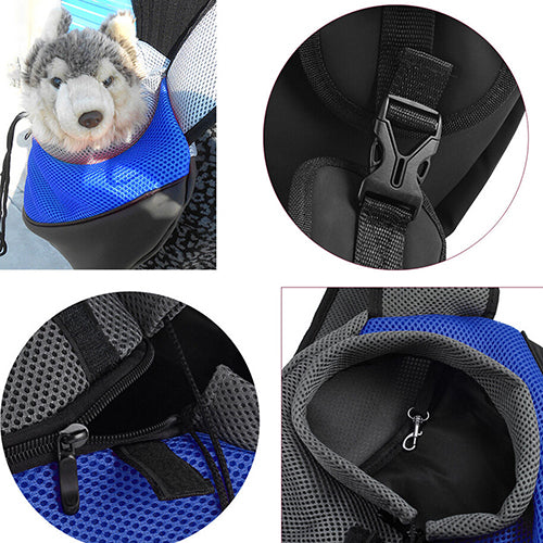 c7309a49bab Air Mesh Fabric Pet Carrier Sling Backpack – Shopinux