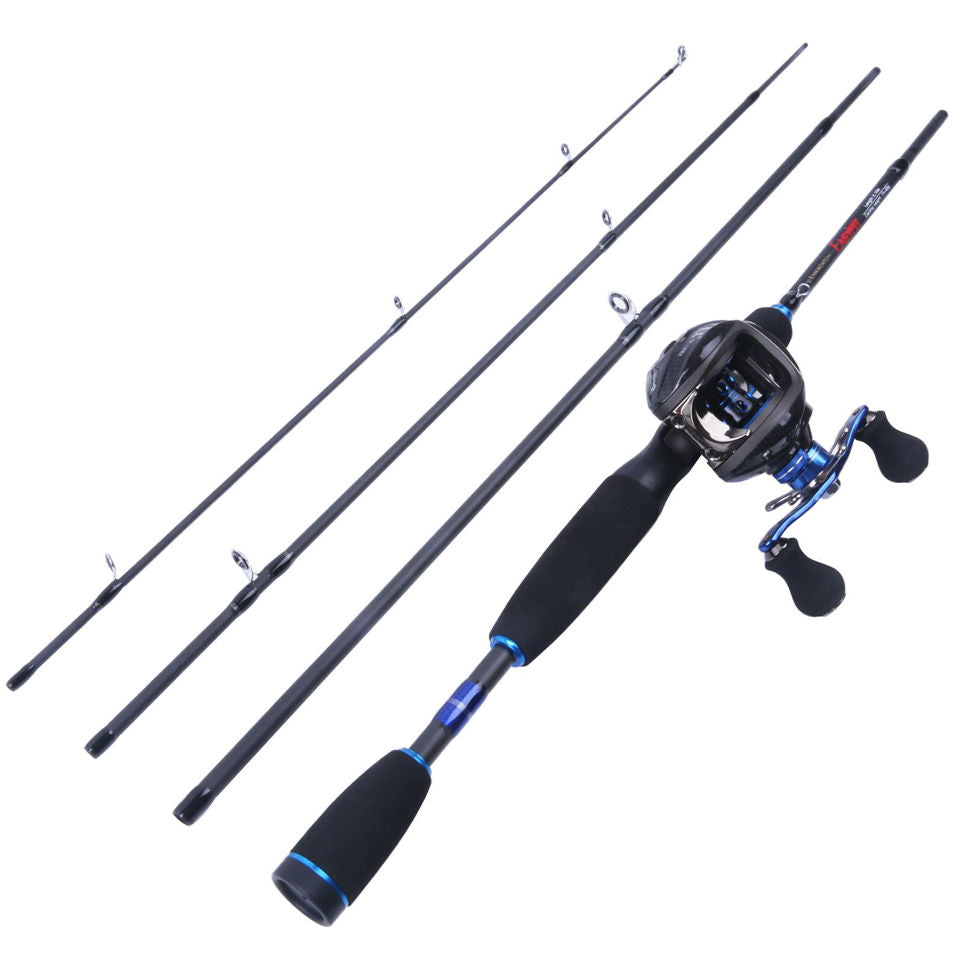 Baitcasting Rod With Magnetic Braking Reel
