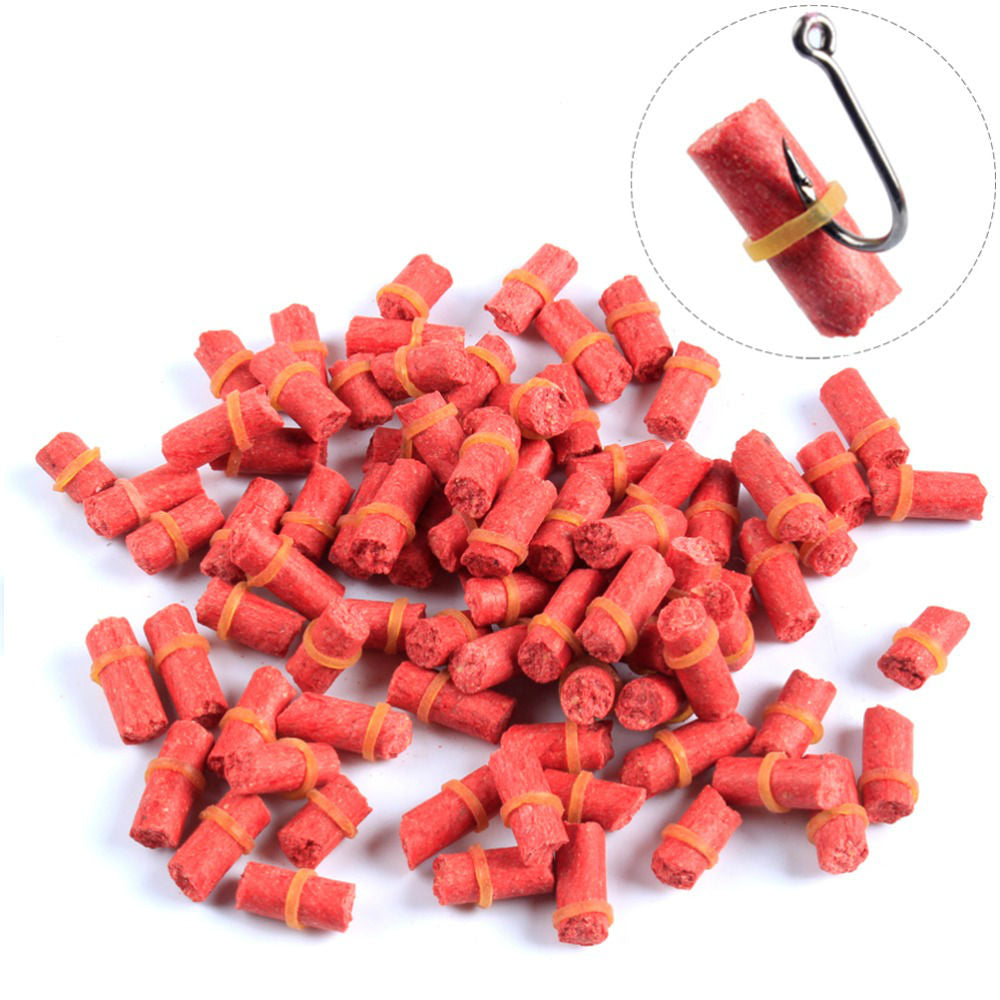 50Pcs Insect Particle Fishing Bait