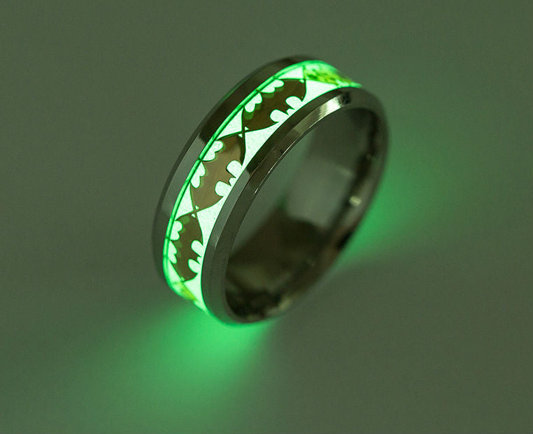 Glowing Retro Luminous Men's Ring