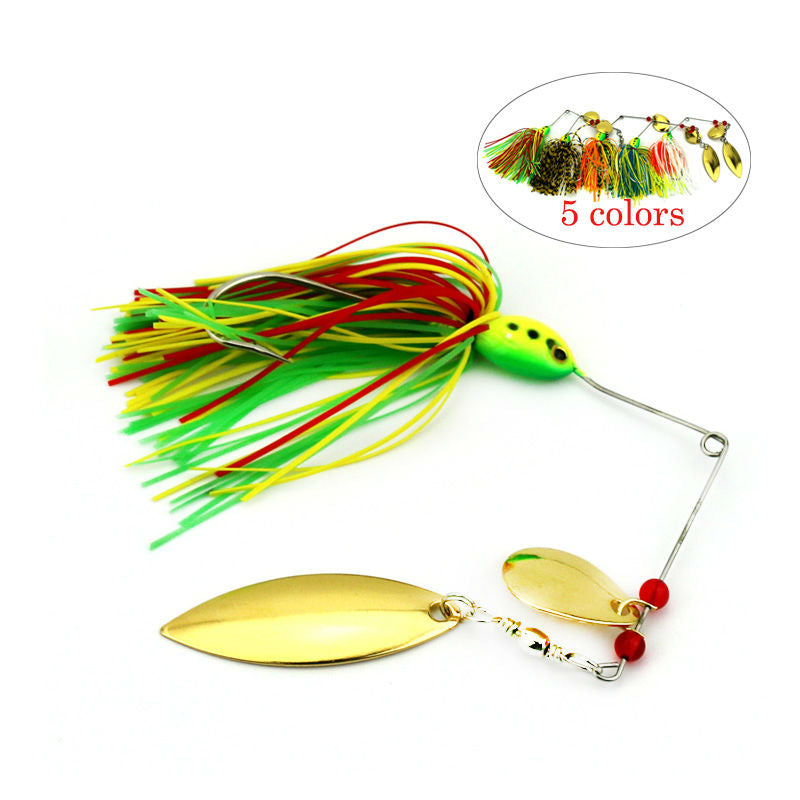 16.3g Spinnerbait with  Double Willow Spinner Blade