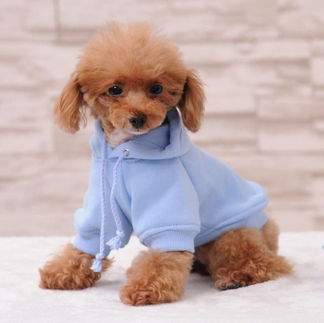 Comfortable Polyester Small Pet Hoodies