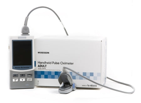 Handheld Pulse Oximeter McKesson Battery Operated Audible and Visual Alarm