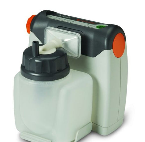 DeVilbiss Vacu-Aide® Compact Suction Unit with a Internal Battery Model # 7310PR-D - The Breathing Shop
