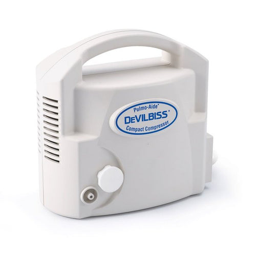 DeVilbiss Pulmo-Aide® Compact Compressor Nebulizer System Model # 3655D The Breathing Shop - The Breathing Shop