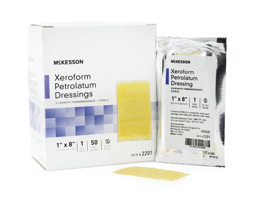 Xeroform Petrolatum Mesh Dressing
