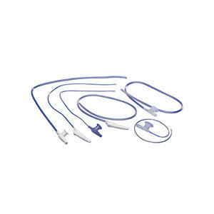 Suction Catheter with Safe-T-Vac Valve 18 fr