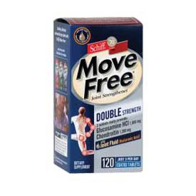 Move Free Double Strength Joint Strengthener Tablets by Schiff  (120 Count)