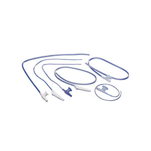 Pediatric Suction Catheter with Safe-T-Vac Valve 6 fr