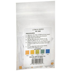 Precision Ph Control Litmus Paper Strips (50 Count)