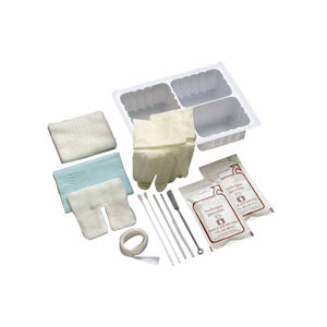 Tracheostomy Care Set with Pre-Cut Gauze Dressing