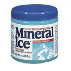 Leader Therapeutic Mineral Ice, 226.8 Gram Jar
