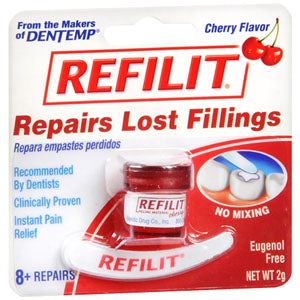 Refilit Cherry Flavored Filling Material, .07 oz.