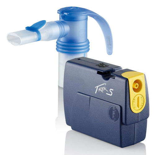 Pari Trek S Portable Compressor Nebulizer Aerosol System incorporates fast, efficient aerosol treatments with portable technology.
