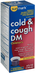 sunmark® Children's Cold and Cough Relief