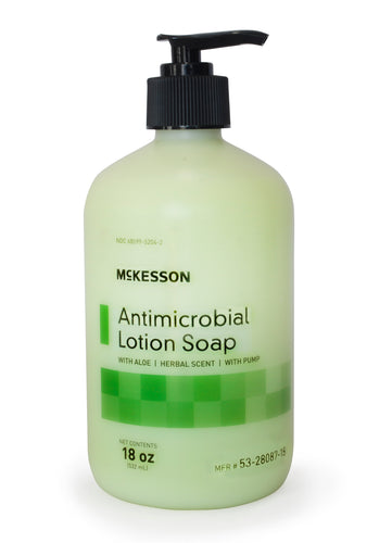 McKesson Antimicrobial Lotion Soap with Aloe