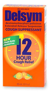 Delsym® Cough Relief 30 mg Strength Suspension 3 oz.