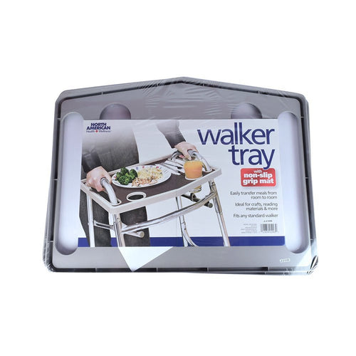 North American Health & Wellness Walker Tray with Non-Slip Mat