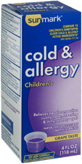 sunmark® Children's Cold and Allergy Relief