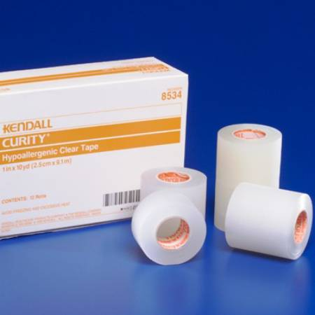 Kendall™ Hypoallergenic Clear Medical Tape