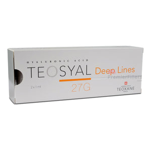 Teosyal 27G Deep Lines (2x1ml)