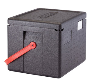 Cambro GoBox EPP280BKST 22 litre Thermal Insulated Catering Box with carry handle GN1/2 pans