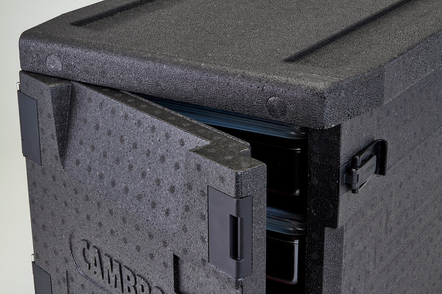 Cambro Front Loader 46 litre Insulated 4 hour Carrier Box 64x44x47cm for GN1/1 Pans EPP300